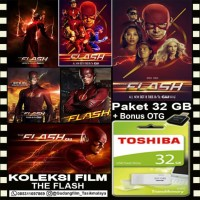 FLASHDISK TOSHIBA 32GB + FILM SERIAL THE FLASH + OTG