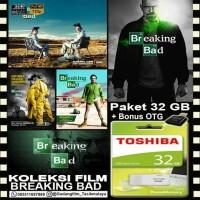 FLASHDISK TOSHIBA 32GB + FILM BREAKING BAD + OTG