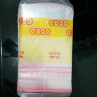 Plastik KLIP uk 10x15 /Plastik Ziplock/Serbaguna