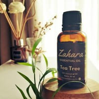 Tea Tree Essential Oil - Zahara Essential Oil 30ml (Bersertifikat)
