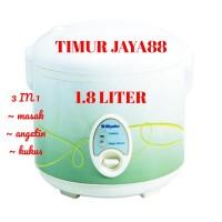Miyako MCM 508 Rice Cooker Magic Com 3 in 1[ 1.8 Liter ]