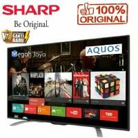 TV LED SHARP 32 INCH DIGITAL SMART TV FULL HD Upscalling garansi resmi