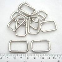Ring Kotak 2,5cm Nikel 25mm metal nickle silver besi 2,5 cm 25 mm