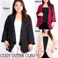 Outer Jumbo Cozy Cardigan Big Size