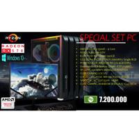 Paket PC AMD Ryzen3 Win10 For Gaming Office