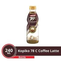 Kopiko 78 | Coffe Latte 1 Karton isi 12x240ML