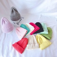 (PROMO) Warna Polos Topi Kupluk Bayi / Anak Laki-laki / Perempuan