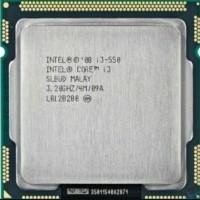 Prosesor intel Core I3 550 Tray No Fan Socket 1156 grab it fast