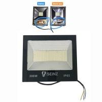 White - Lampu Sorot Tipis LED 200w Outdoor Tembak Flood Light