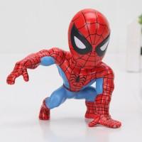 Action Figure Model Spiderman 8cm untuk Koleksi