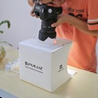 PULUZ 2LED Light Box Mini Photo Studio 1100LM Photography Tent Kit