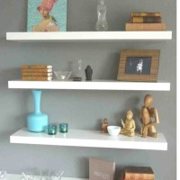 rak dinding (1set) floating shelf ( isi 3) 60 cm