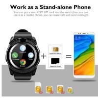 Cognos - GSM V8 Smart Watch (Termasuk Kotak) Smartwatch Whatsapp Sim