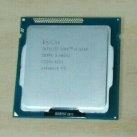 Processor Intel Core i3 3240 Tray + Fan Original Dual Core LGA 11