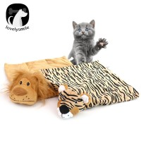 (L) Matras Tidur Bentuk Singa Untuk Kucing