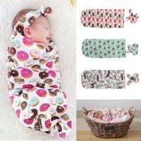 (PROMO) Sleeping Bag / Bedong Bahan Katun untuk Bayi 0-12 Bulan