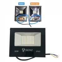 White - Lampu Sorot Tipis LED 30w Outdoor Tembak Flood Light Alumunium