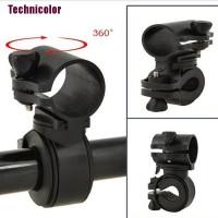 Tcid 360 Rotation Cycling Bicycle Bike Flashlight LED Torch Bracket