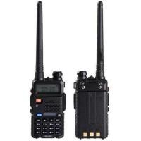 # Walkie Talkie Dual Band 5W 128CH UHF+VHF - BF-UV-5R [Hitam] kekinian