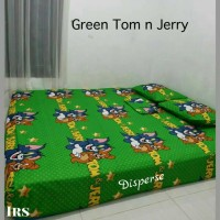 Sprei Homemade Green Tom n Jerry