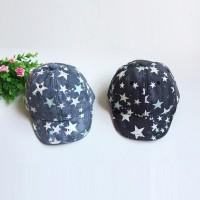 (PROMO) Fashion Kids Girls Boys Summer Star Hip Hop Hat Baseball