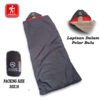 # Bulu Polar Sleeping Bag Camping Hangat Bahan Tebal kekinian