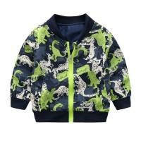 (PROMO) Sweater Kaos Casual Bayi Laki-laki Desain Kartun Dinosaurus