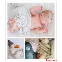(PROMO) Sc Selimut Bedong Bayi Newborn Bahan Katun Breathable Hangat