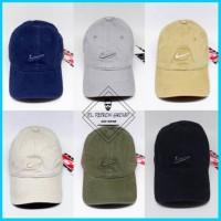 Topi Baseball Nike Import Logo Bordir 6 Warna Unisex Free Box