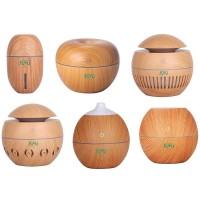 # Humidifier Aroma Essential Oil Wood 130ml kekinian