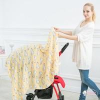 (PROMO) Selimut Bayi dengan Bahan Katun Breathable dan Gambar Motif