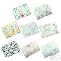 (PROMO) Washed Cotton Towel Cotton Gauze Wrapped Baby Towel Blanket