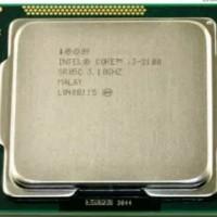 Intel prosesor core i3 2100 LGA 1155 + fan original top stuff