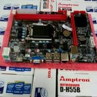 PAKET MOBO H55 & Intel Core i3 550 3.2GHZ MURMER suku cadang