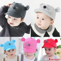 (PROMO) Bby-kids Topi Kupluk Katun Hangat Bayi Laki-laki / Perempuan