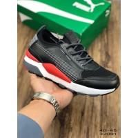 Sepatu Sneakers Olahraga Pria Model Puma Evolution rs-0 Warna Hitam