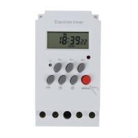 Time Switch Din Rail LCD Digital Programmable Timer KG316T-II AC
