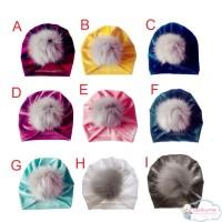 (PROMO) Topi Kupluk Bayi / Anak Laki-laki / Perempuan Bahan Velvet