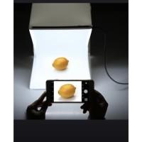 Mini Photo Box Kotak Studio Foto Lampu LED Tempat Foto Portable