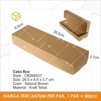 Dus Kue Cake Box Kotak Packaging Kemasan Brownies - CB268537