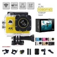 Sport Cam 4K Ultra HD WIFI Waterproof Action Camera V2 - Kogan
