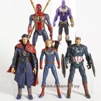 Action Figure Avengers Captain Marvel Set Isi 5