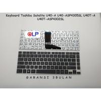 Keyboard Toshiba Satelite U40A U40-A U40T U40T-A U45-A U45T-A Black