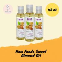 Now Foods Sweet Almond Oil, 4 fl oz 118 ml 100% Pure Moisturizing Oil