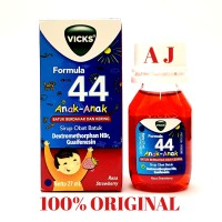 Vicks Formula 44 Anak Syrup 27ml - Obat Batuk Untuk Anak