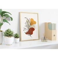 Poster Flowery Geometric/Poster Flower Geometric (Small)