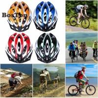 Helm helem sepeda fixie mtb roadbike lipat balap visor ultra ringan