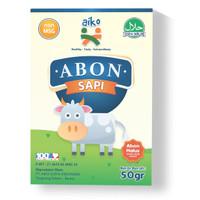Aiko Abon Sapi untuk Mpasi 50 gr Halal, Non Msg