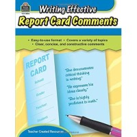 Writing Effective Report Card Comments