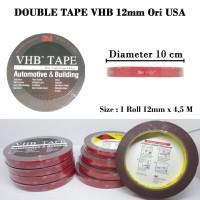 3M VHB Double Tape Doubletape 12MM Ori USA 4900 CAD